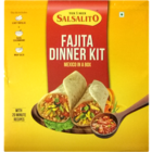 Salsalito Fajita Dinner kit Soft Tortilla Fajita Seasoning Mix & Taco Salsa Hot 488 g