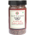 Sattviko Ajwaini Flex Seeds Bottle 100 g