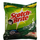 Scotch Brite Scrub Pad 7.5 x 10 cm (3 Pc Pack) 1 pc