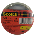 Scotch 500 Seres Transparent 18mm X 25mm 1 Pc