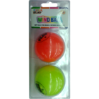 Shakti Neon Color PVC Wind Ball Blister Pack Set Of 2 Nos 1 pc