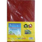 Shanti Asrtd Glitter Foam Sticker A4 10 Pcs 1 pc