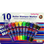 Shanti Roller Stamper With Marker-10 1 Pc