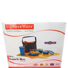 Signoraware Best Lunch Box With Bag No.513 1 Pc