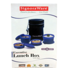 Signoraware Executive Lunch Box With Bag No.509 1 Pc