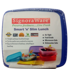 Signoraware Smart N Slim Lunch Box No.58 1 Pc