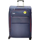 Skybags Jive 4 Wheel Exp Blue Soft Luggage Strollley 66 cm 1 pc