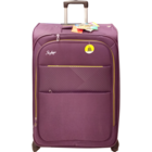 Skybags Jive 4 Wheel Exp Purple Soft Luggage Strollley 56 cm 1 pc