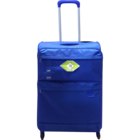 Skybags Sky Surf Strolley with 4 Wheels Blue 59 cm 1 pc