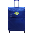 Skybags Sky Surf Strolley with 4 Wheels Blue 81 cm 1 pc