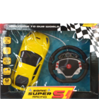 Sonic 1:18 Rechargable Car Super Racing With Steering 1 pc