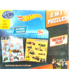Sterling 2 In 1 Hotwheels Puzzles Promo 1 pc