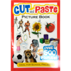Sterling Cut And Paste Picture Book 1 pc