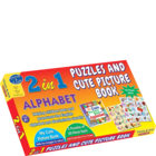 Sterling Publishers New 2 In 1 Puzzle Assorted 1 pc