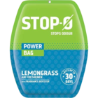Stop-O Power Bag Lemon Grass Air Freshener 1 pc