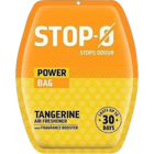 Stop-O Power Bag Tangerine Air Freshener 1 pc