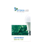 Syska 15W LED Bulb B22 1 pc