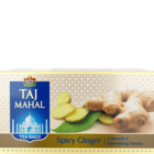 Taj Mahal Spicy Ginger Flavored Tea Bags 25 Nos
