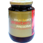 Tata High Range Strawberry Preserve Glass Jar 500 g