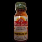 Three Leaves Lemon Yellow Glass Bottle 20 ml