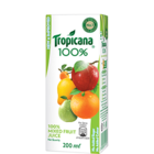 Tropicana Mixed Fruit 100% Juice 200 ml