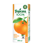 Tropicana Orange 100% Juice 200 ml