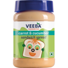 Veeba Carrot & Cucumber Spread 280 g