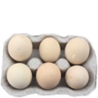Village Fresh Country Eggs Pack of 6 Nos
