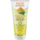 VLCC Deep Pore Cleansing and Brightening Haldi and Tulsi Facewash 100 ml