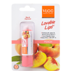 VLCC Lovable Lips Lip Balm Peach 4.5 g