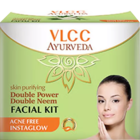 VLCC Skin Purifying Double Power Double Neem Face Kit 50 g