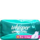 Whisper Maxi Fit XL Sanitary Pads 8 Nos