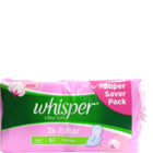 Whisper Ultra Soft L Wings 30 pc