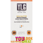 YLG Institut Salon Pro Brightening Cold Wax Strips 20 pcs