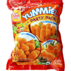Yummiez Power Party Pack Chicken (Nuggets+Garlic Fingers+Dinoz) 600 g