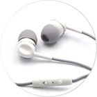 Zebronics Stereo Earphone H-EM880  with Mic White 1 pc