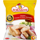 Zorabian Chicken Cheese & Onion Sausages 250 g