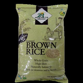 24 Mantra Organic Sona Masuri Brown Rice
