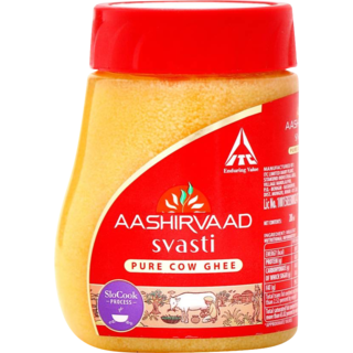 Aashirvaad Svasti Pure Cow Ghee Bottle