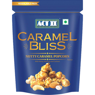 Act II Ready to Eat Nutty Caramel Bliss Popcorn