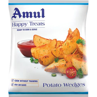 Amul Happy Treats Potato Wedges