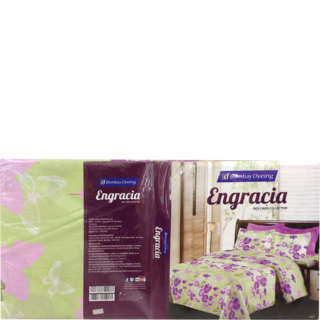 Bombay Dyeing Engracia Cotton Double Bedsheet 144 Assorted 229 X 274 cm