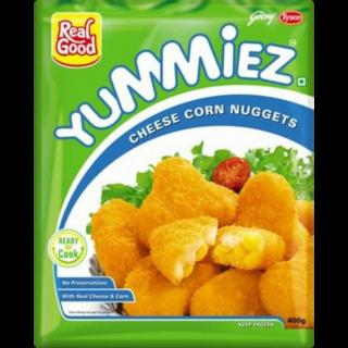 Yummiez Veg Cheese Corn Nuggets