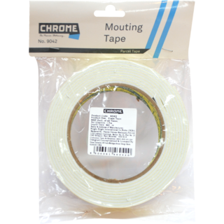 Chrome 24mm*5m Double Sided Cello Tape No.9042
