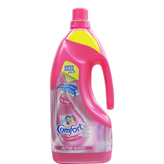 New Comfort Fabric Conditioner Lily Fresh Pink