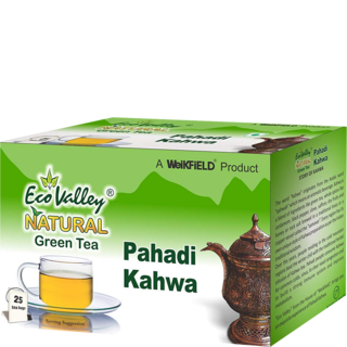 Eco Valley Natural Green Tea Pahadi Kahwa