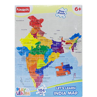 Funskool india map puzzles 1 pc buy online funskool india map puzzles gumiabroncs Images
