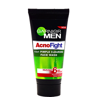Garnier Men Acno Fight 6 In 1 Pimple Cleaning Face Wash