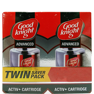 Good Knight Advanced Refill Twin Pack