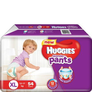 Huggies Wonder Pants  XL 12-17 kg 54 Nos